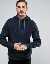 The North Face Hoodie With TNF Logo In Navy