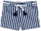 Tommy Hilfiger Striped Short with Novelty Belt (Little Girls)