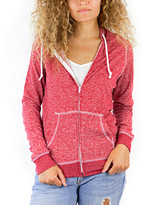 Pima Apparel Women's Sweatshirts and Hoodies RED - Red Zip-Up Hoodie - Women