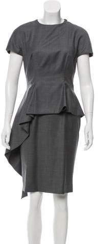 Christian Dior Wool Midi Dress