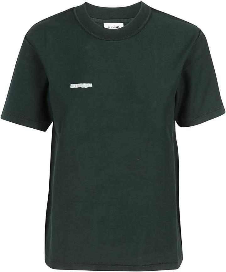 Vetements Logo Patch T-Shirt