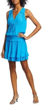Ramy Brook Hadley Ruffled Blouson Dress