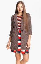 Milly 'Alegra' Tweed Coat