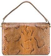A.N.G.E.L.O. Vintage Cult 1970s snakeskin shoulder bag