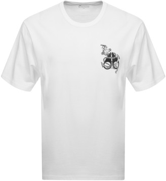 Moose Knuckles Moose Anchor T Shirt White