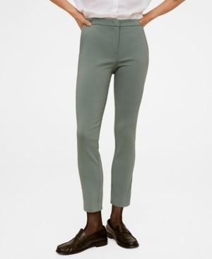 MANGO Crop Skinny Pants