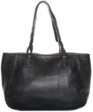Christian Dior Black Calfskin Leather Tote