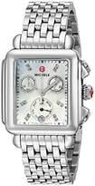 Michele Women's MWW06P000014 Deco Analog Display Swiss Quartz Watch