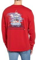 Vineyard Vines Men's Santa Sportsfishing Pocket T-Shirt