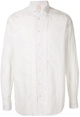 Forme D'expression front bib button-up shirt