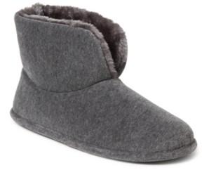 Dearfoams Women's Velour Bootie Slippers, Online Only