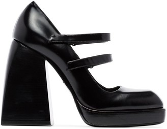Nodaleto Babes Bulla patent-leather mary-jane pumps