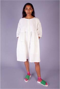 L.F. Markey Samuel Dress Off White - UK 12