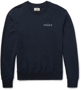 Everest Isles - Embroidered Loopback Cotton-jersey Sweatshirt