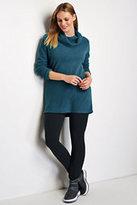 Classic Women's Plus Size Cozy Fleece Cowlneck Tunic-Coal Heather