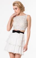 Terani Couture 1521H0059A Two Piece Chiffon A-line Dress