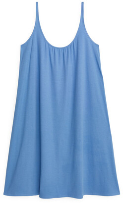 Arket Gathered Jersey Dress