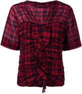Etoile Isabel Marant Walt blouse - women - Cotton/Linen/Flax - 36