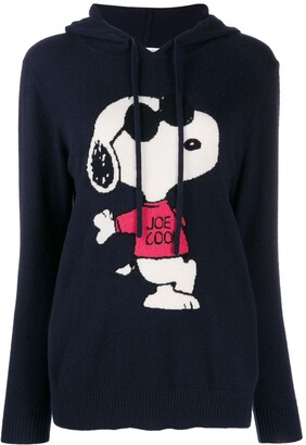 Chinti and Parker Cashmere Hooded Jumper