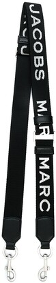 Marc Jacobs MJ graphic thin webbing strap