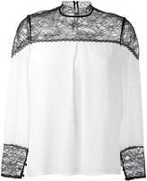 Alice + Olivia Alice+Olivia - 'Keagan' blouse - women - Silk/Nylon/Polyester/Spandex/Elastane - M