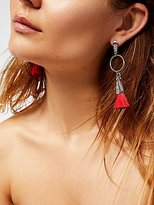 Free People Hand To Hold Tassel Earrings