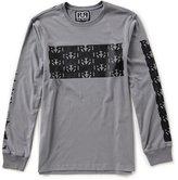 Rock Revival Long-Sleeve Side Zipper Checker T-Shirt