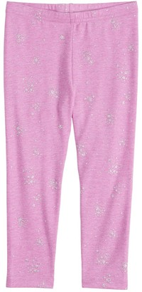 Toddler Girl Jumping Beans Toss Print Leggings