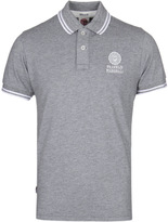 Franklin & Marshall Classic Grey Short Sleeved Pique Polo Shirt