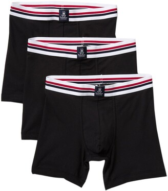 Psycho Bunny Motion Boxer Briefs - Pack of 3