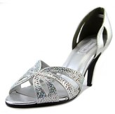 Touch Ups Poise Women Peep-toe Synthetic Silver Heels.