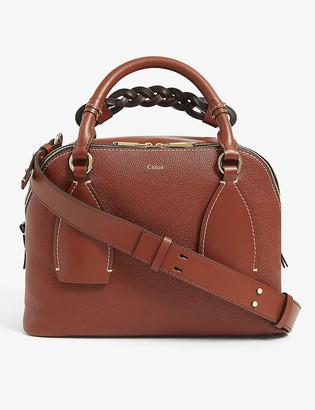 Chloé Daria medium leather tote bag