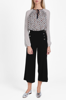 Derek Lam 10 Crosby Wide Leg Sailor Trousers