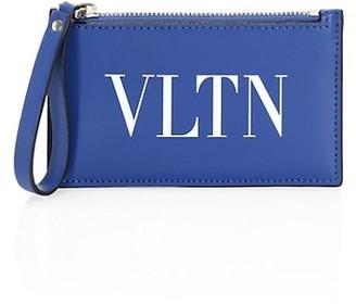Valentino VLTN Leather Cardholder
