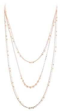 Rebecca Minkoff Luxury Ellie Triangle Layered Necklace