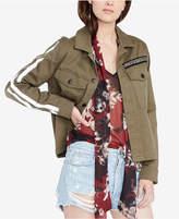 Rachel Roy Striped-Sleeve Jacket, Created For Macy's