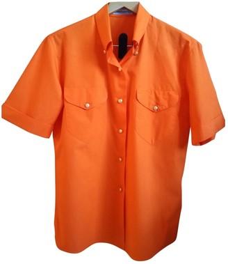 Burberry Orange Cotton Top for Women Vintage