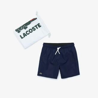 Lacoste Boys Classic Swim Trunks