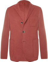 Barena - Unstructured Cotton-blend Jersey Blazer