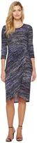 Maggy London Tweed Weave Novelty Knit Dress Women's Dress