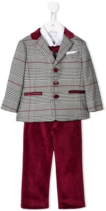 Colorichiari tweed suit set