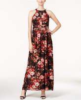 Nine west three-quarter zipper back lace dress