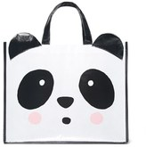 Forever 21 FOREVER 21+ Glossy Panda Eco Tote