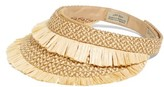 Eric Javits Women's Packable Tiki Visor - Beige