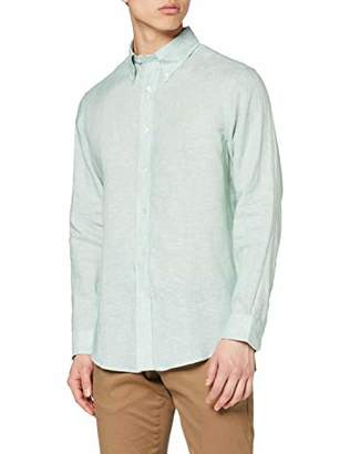 Brooks Brothers Men's 100103633 Casual Shirt,(Size: X-Large)