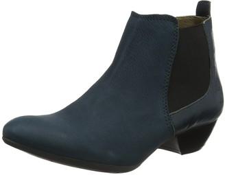 Fly London Women's Sly Boots Blue (Cupi/Mous/Reef) 8 UK 41 EU