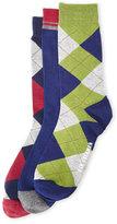 Ben Sherman 3-Pack Argyle Crew Socks