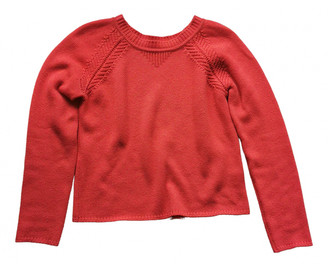 Hermes Red Cashmere Knitwear