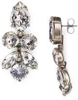 Sorrelli Lotus Bloom Swarovski Crystal Drop Earrings
