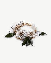 Ann Taylor Crystal Petal Bracelet